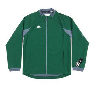 Adidas Fielders Choice Jacket Baseball Zip Green